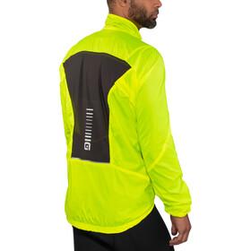 Alé Cycling Guscio Light Pack Jacke Herren flou yellow